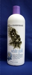 #1 All Systems 473ml White Gold Color Enhancing Botanical Conditioner Farbconditioner Hundepflege Katzenpflege-31