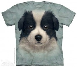 The Mountain Border Collie Puppy Shirt Hunde Shirt Baumwoll Dog Shirt Geschenkidee-31