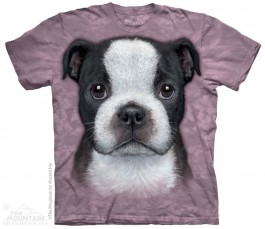The Mountain Boston Terrier Puppy Shirt Hunde Shirt Baumwoll Dog Shirt Geschenkidee-31