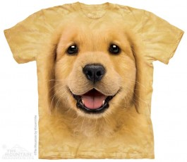 The Mountain Golden Retriever Puppy Shirt Hunde Shirt Baumwoll Dog Shirt Geschenkidee-31