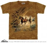 The Mountain T Shirt Sacred Passage Pferdemotiv T Shirt Baumwoll T Shirt Geschenkidee