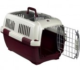Hundetransportbox Katzentransportbox Clipper Aran 2  L 57cm B 37cm H 36cm Transportbox