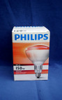 Philips Infra Red Lamp hard glass Philips Speziallampe BR125 IR 150W E27 230-250V-20