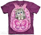 The Mountain Backpack Kitten Shirt Katzen T Shirt Baumwoll T Shirt Geschenkidee Cat Shirt-20