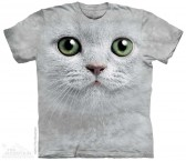 The Mountain Green Eyes Face Shirt Katzen T Shirt Baumwoll T Shirt Geschenkidee Cat Shirt-20