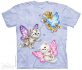 The Mountain Butterfly Kitten Fairies Shirt Katzen T Shirt Baumwoll T Shirt Geschenkidee Cat Shirt-20