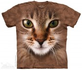 The Mountain Striped Cat Face Shirt Katzen T Shirt Baumwoll T Shirt Geschenkidee Cat Shirt-20
